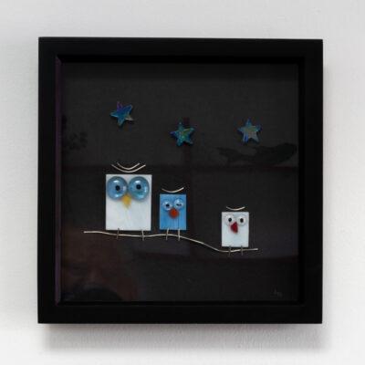 Twit-Twoo trio of night owls
