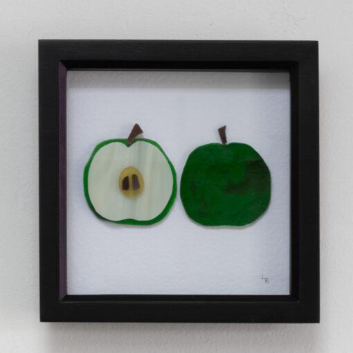 Crunchy green apples