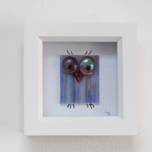 Twit-Twoo lilac blue owl