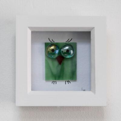 Twit-Twoo warm green owl
