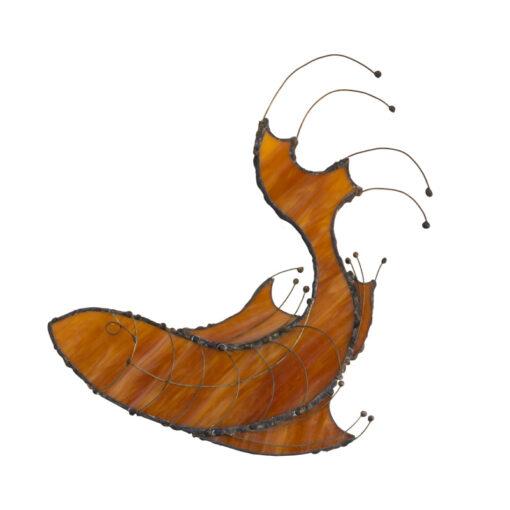 Turning Fish amber