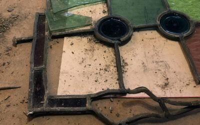 Repairing a stained glass window