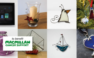 Macmillan fundraiser glass events 29 & 30 October