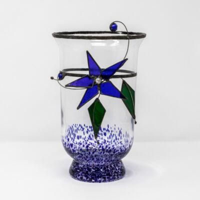 Blue storm jar