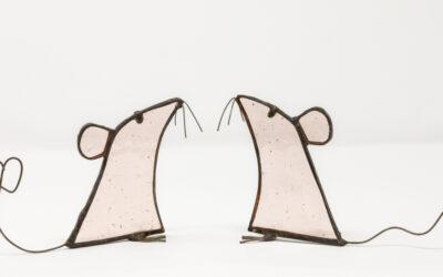Sugar-free sugar mice make a sweet Valentine's gift