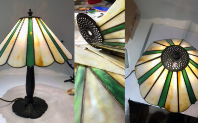 My 'Repair Shop' opens for Tiffany lamp repair