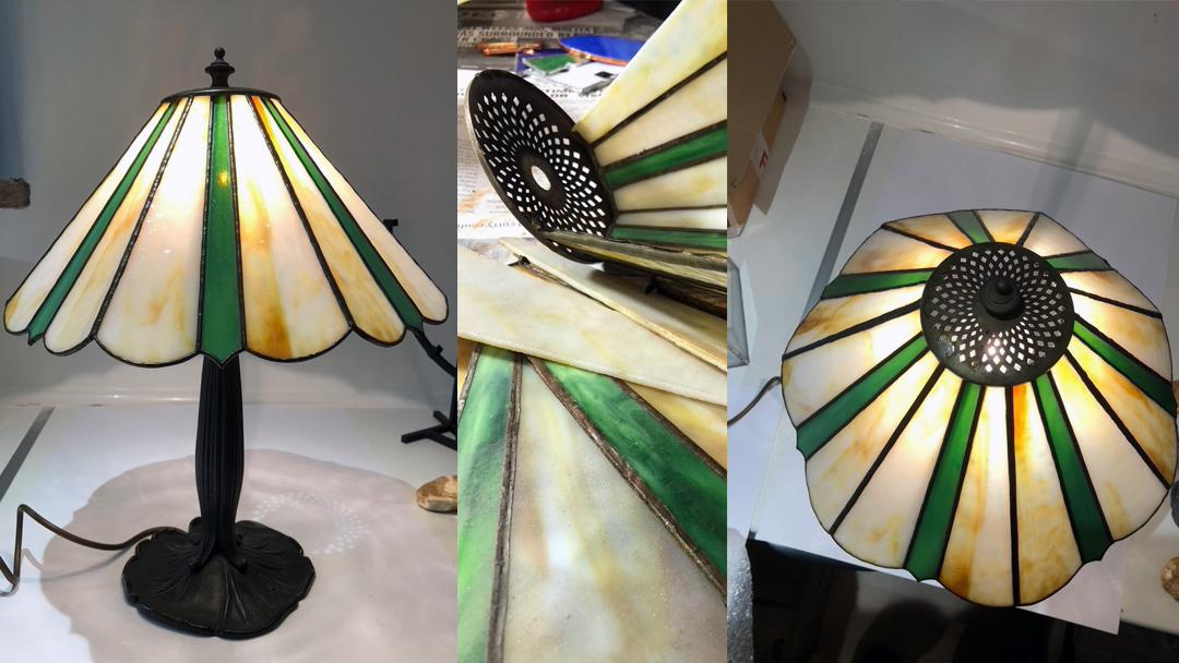 My 'Repair Shop' opens for Tiffany lamp repair