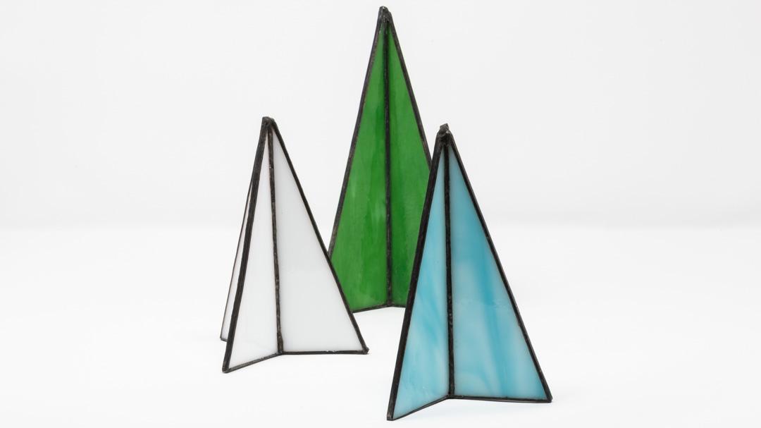 Stylish 3D Christmas decorations