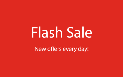 New flash sale offers a great deal every day