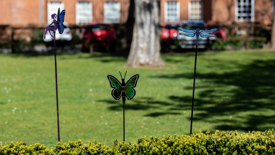 Unique art sculptures for the garden